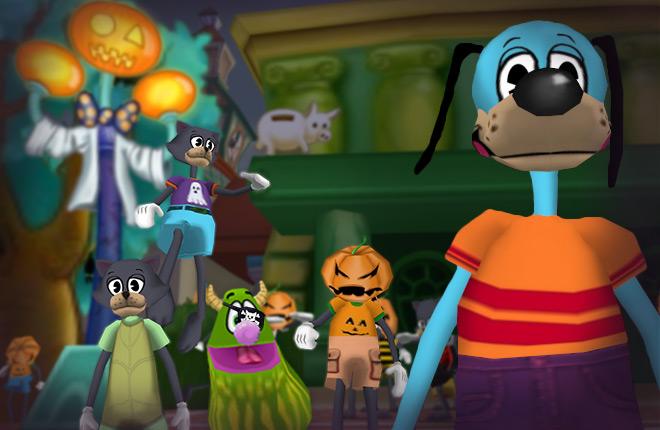 Toontown Rewritten 2020 Halloween The Hilarity and Horrors of Halloween | Toontown Rewritten