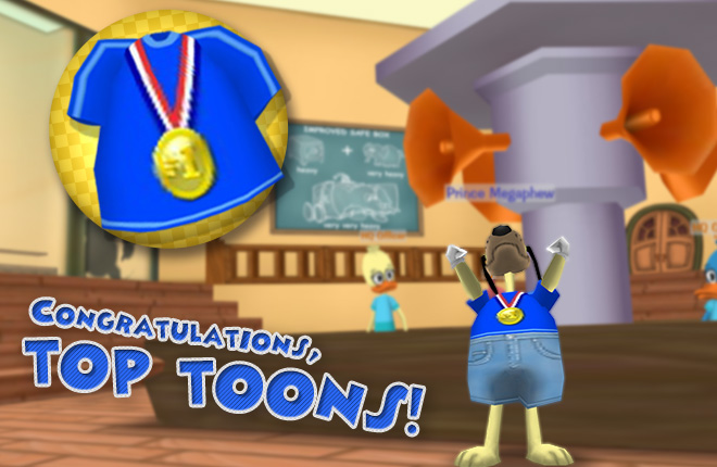 Congratulations to the New Year's Top Toons Marathon Winners!