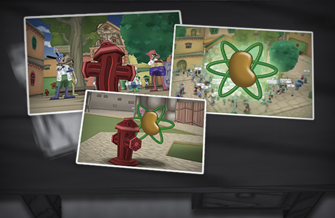 File Photos of the dastardly silly Fire Hydrant with Silly Particles.