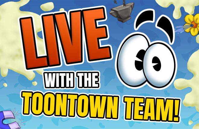Toontown's 15th Birthday LIVE with the Toontown Team on YouTube and Twitch!
