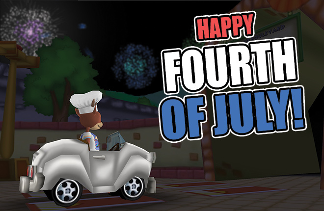 Happy Fourth of July from Toontown!