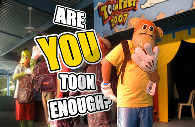 Are YOU Toon Enough? - Photo of the ToonFest 2007 Costume Contest by wigglezzz