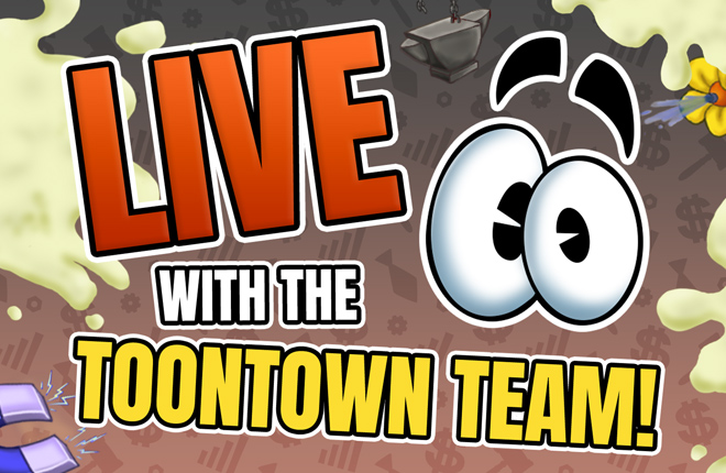 Toontown Rewritten's 5th Anniversary LIVE with the Toontown Team on YouTube and Twitch!