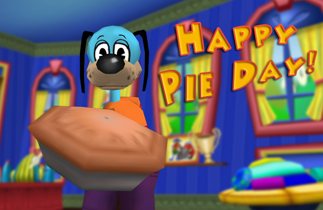 Flippy Bakes Pies in his New Office!