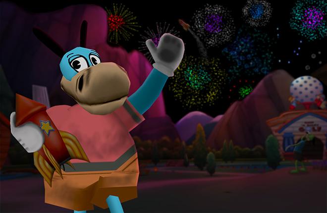 Smokey Joe celebrates the Summer Fireworks!