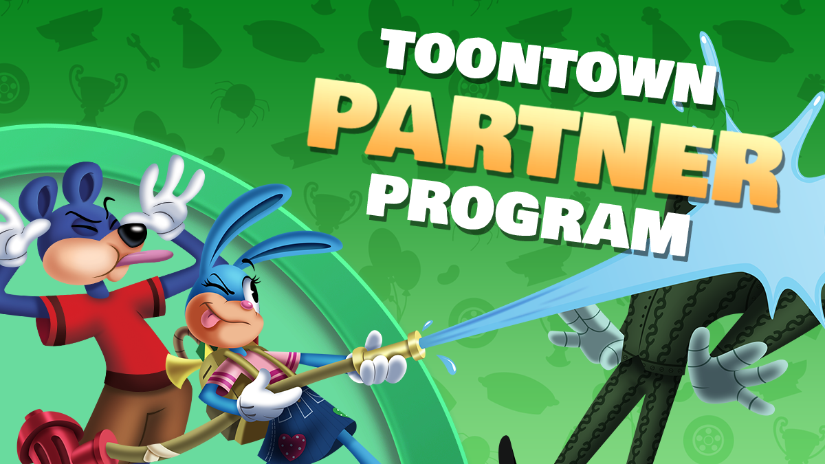 Introducing the brand new Toontown Rewritten Partner Program!