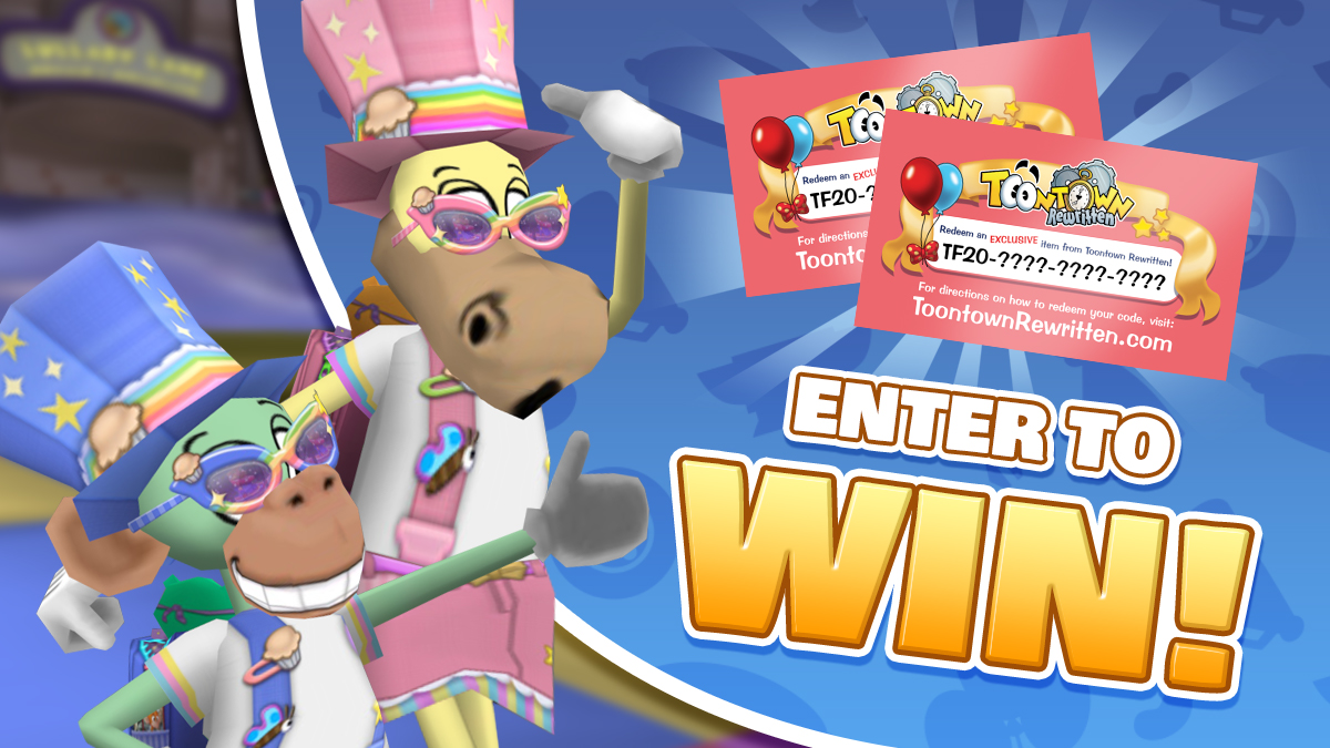 Image: Now's your chance to win ToonFest 2020 Codes for exclusive items!