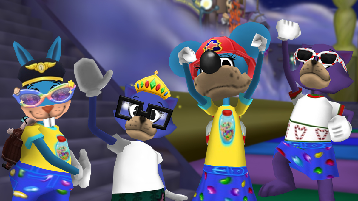Image: The Toons behind the Toontown Rewritten Facebook group!